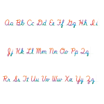 cursiveStrips